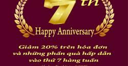 Thứ 7 tri ân - Kỷ niệm 7 năm thành lập